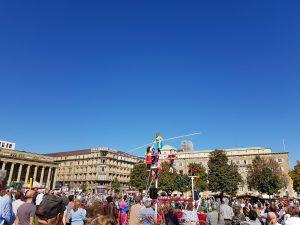 Stuttgart Event am Schlossplatz