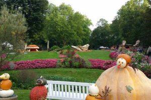 Kürbisausstellung im Blühenden Barock